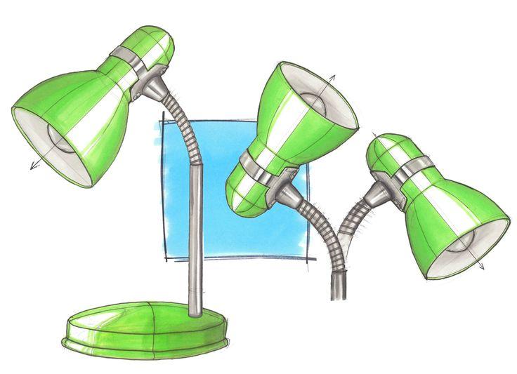 MONDO SKETCHES /  lamp sketch