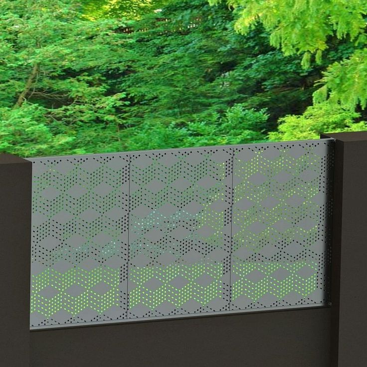 3D Blox 1015 Tixxy infill panel in silver colour