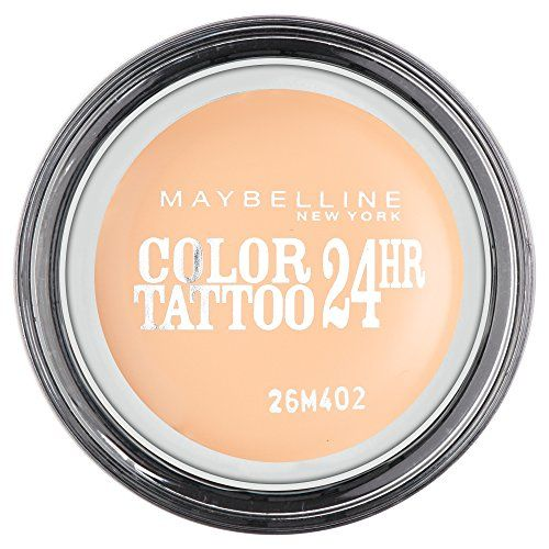 From 5.25 Maybelline Color Tattoo 24hr Eyeshadow Creamy Matte 93 Crème De Nude