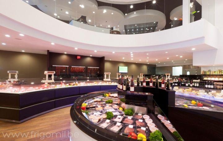 Dugardeyn butchers shop by frigomil roeselare belgium 02 for Dujardin kortrijk