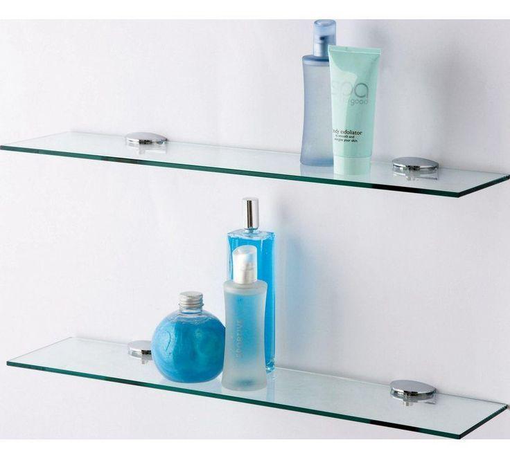 Buy Argos Home Glass Shelves – Pack of 2 | Bathroom shelves and storage units | …  – Bathroom Shelves for towels,