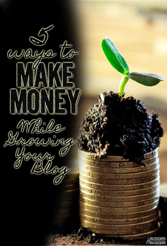 Your blog will probably take a while to turn a profit. Here are five great things you can do in the meantime to make money while growing your blog.