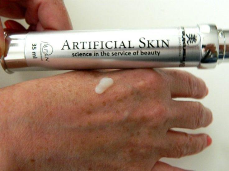 artificial skin op hand