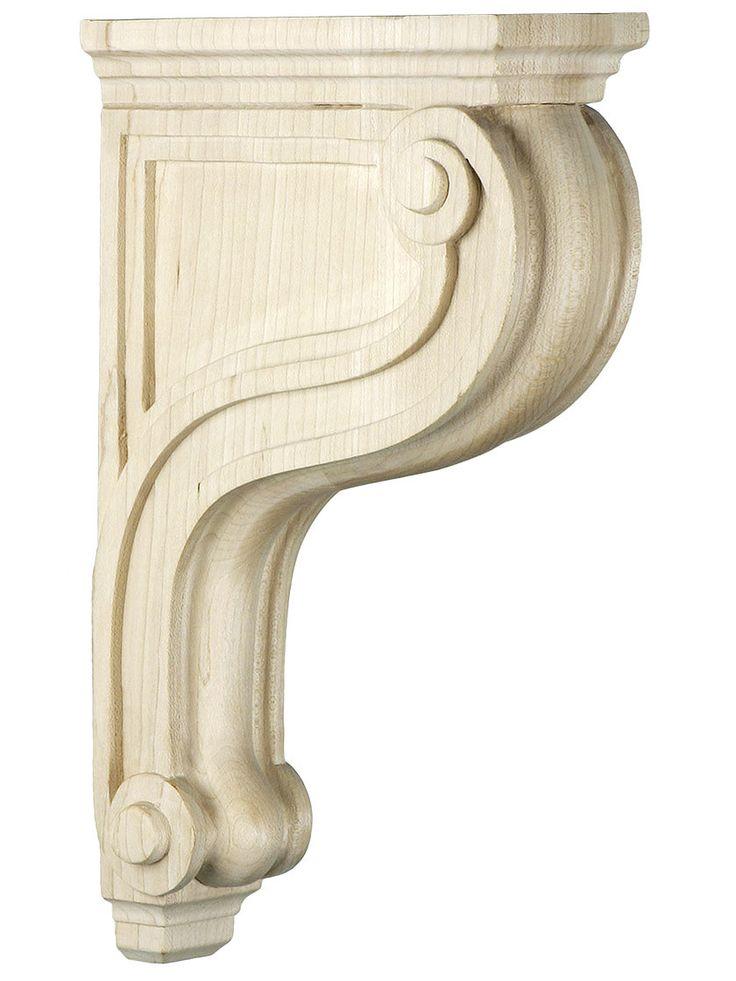 scroll corbel