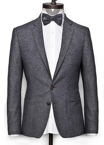 H.E. by MANGO - FLECKED TWEED BLAZER: Men Clothing, Jon Style, Bows Ties, Menswear F, Men Style,  Suits Of Clothing, Fleck Tweed, Joey Style, Tweed Blazers