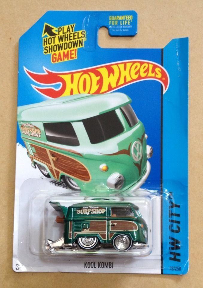 hot wheels super treasure hunt 2015 kool kombi vhtf rare us card - Rare Hot Wheels Cars 2015
