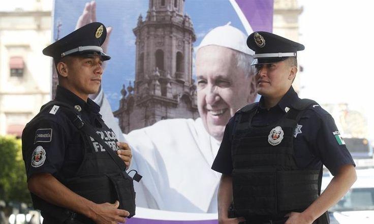Más de 13.000 policías mexicanos se encargarán de seguridad en visita papal | Radio Panamericana