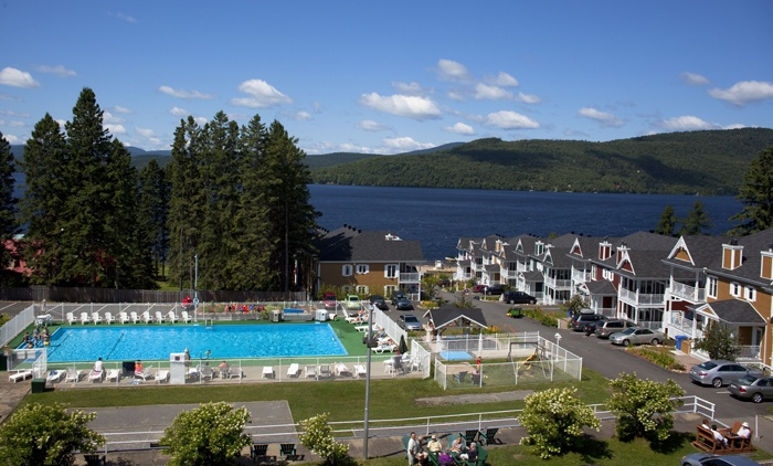 Hôtel Manoir des Laurentides St. Donat, Quebec Beautiful in the summer... Great Place to go skiing in the Winter. I have Fantastic memories of this place.