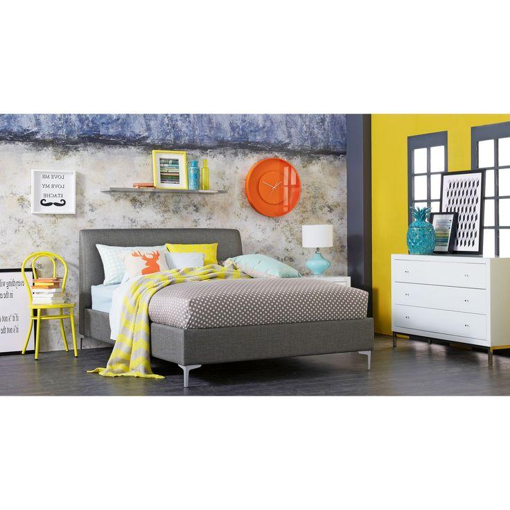 Lucci Bed Frame in Mega Fabric   Domayne $900 single