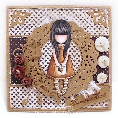 Nicolchens small craft world: Gorjuss Girl I gave you my heart