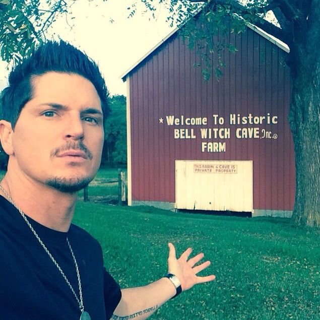 Zak bagans 2014.  Zak next time your in Tennessee for a investigation let me know.