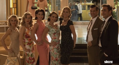 Check out some of our Stop Staring cocktail dresses in the Magic City on Starz!