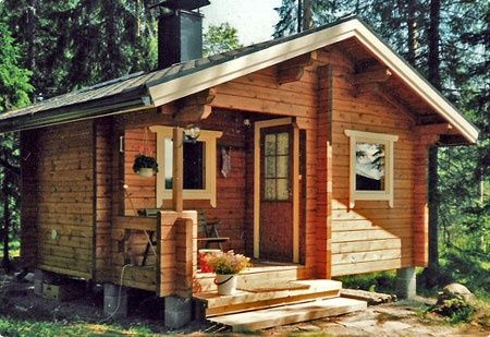 small Finnish pine cabins by tay log cabins in sco…