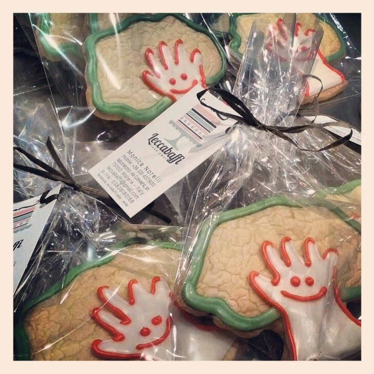 Company decorated cookies