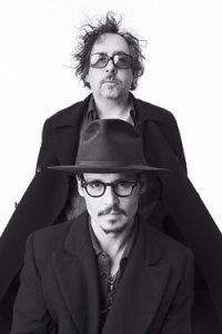 Tim Burton with Johnny Depp