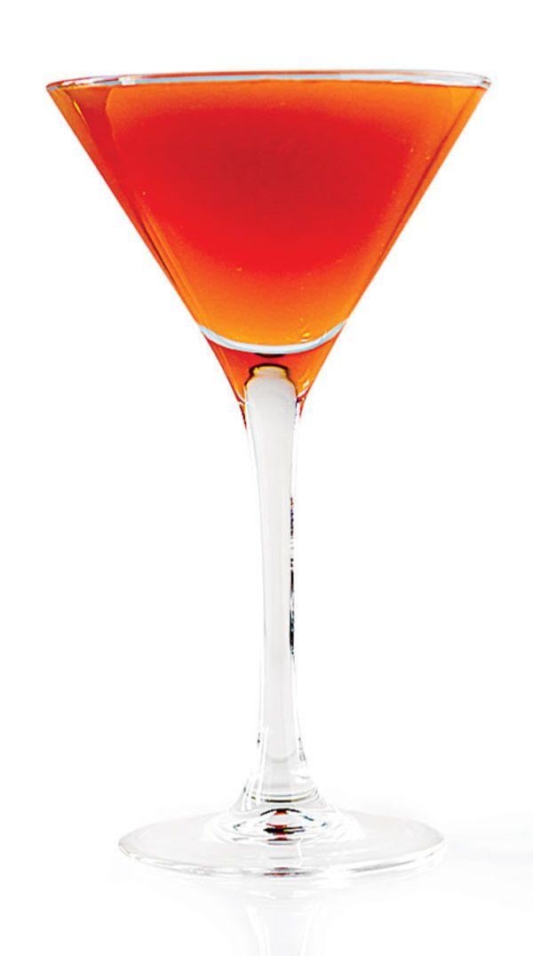 Adriatique Recipe | 1 oz. Amaro Montenegro 1 oz. fresh orange juice 1⁄2 oz. Aperol