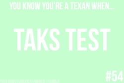 Ughhhh..... best part of the TAKS test was being a Senior and spending days off with friends!
