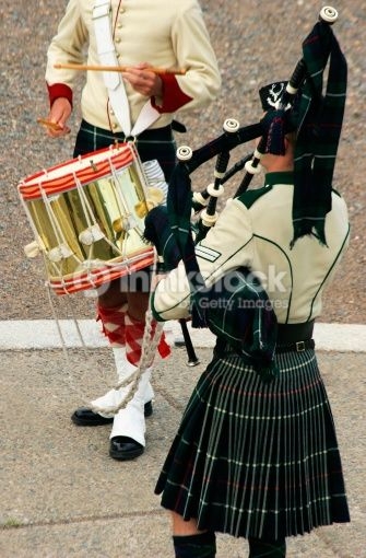 Stock Photo : Pipe and Drum