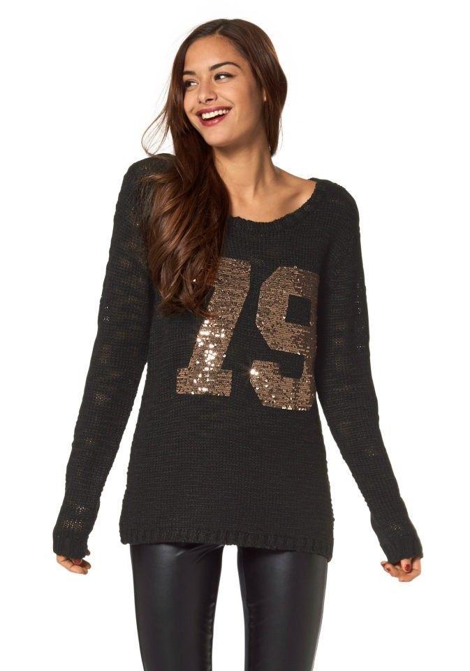 8dea6e05241e AJC Damen  Pullover  schwarz Neu Gr. 38   Ebay Fashion   Pinterest ...