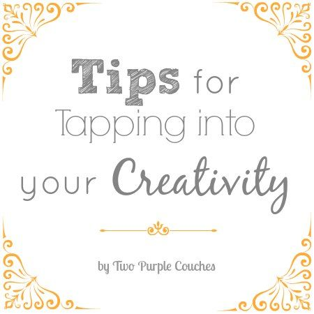 An analysis of tapping into your creativity