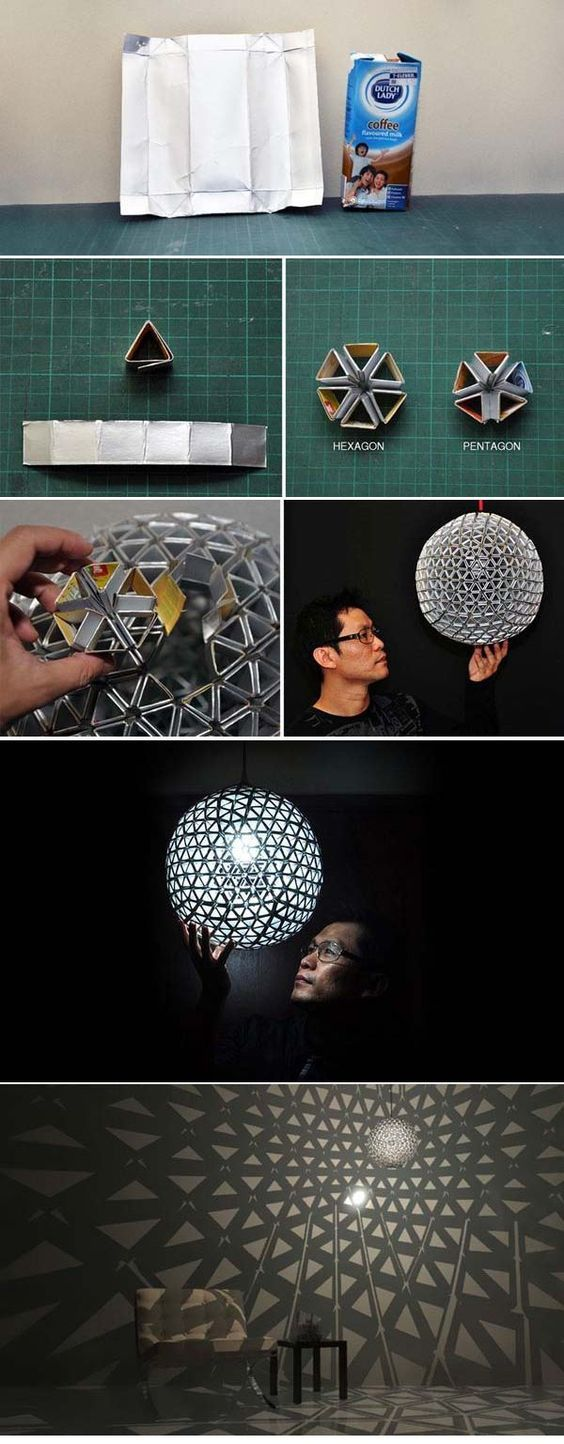 die besten 25 selbstgemachte lampenschirme ideen auf pinterest selbstgemachte lampen coole. Black Bedroom Furniture Sets. Home Design Ideas