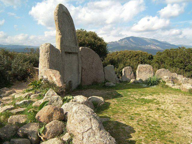 Prehistoric tombs in Sardinia, Italy