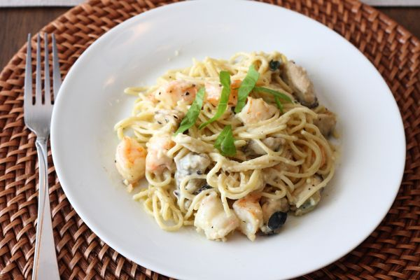 Plated Shirmp and mussels pasta | Recipes | Pinterest