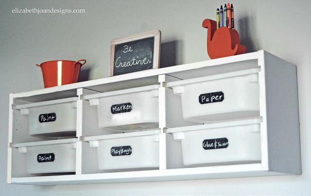 Ikea Trofast Makeover Playroom Pinterest Ikea Trofast Playrooms And Plastic Bins