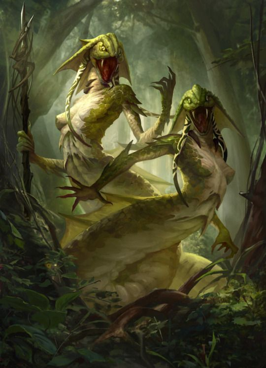 Tsaseic  Criaturas reptilianas muy ágiles y avilés en espadas, son muy territoriales y orgullosos   Peligro 7-9