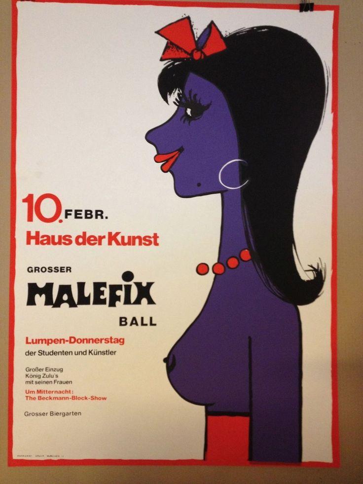 Fasching MÜNCHEN GROßER MALEFIX BALL HAUS DER KUNST
