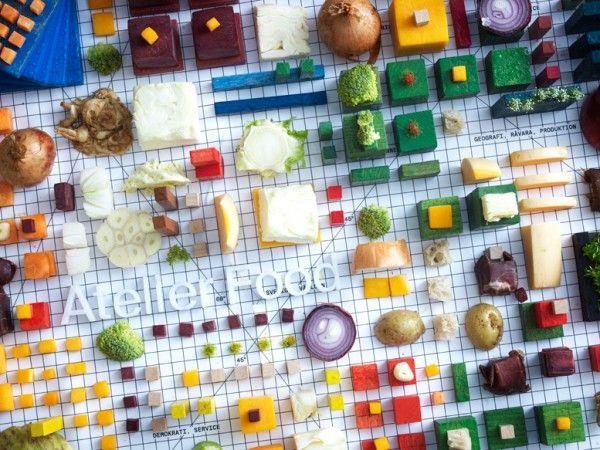Food & Design - Still life: il progetto legato al cibo e alla società di Atelier Food