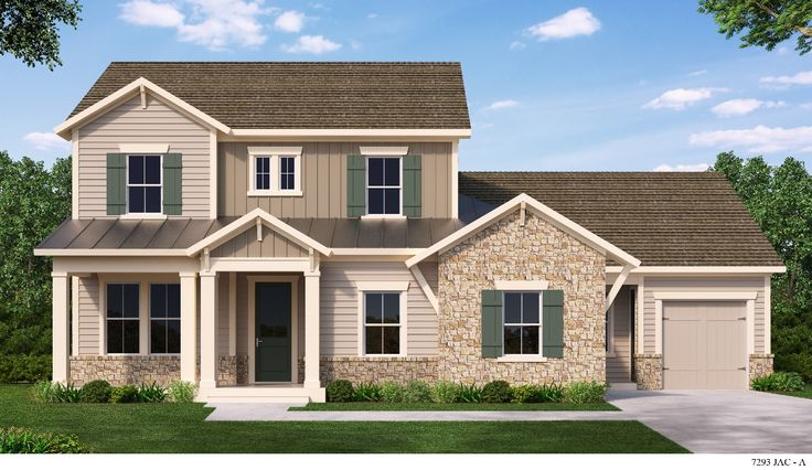 The Fountain by David Weekly Homes in The Ranch at Twenty Mile.