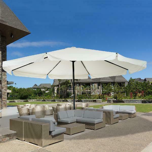 garden parasol large patio umbrella