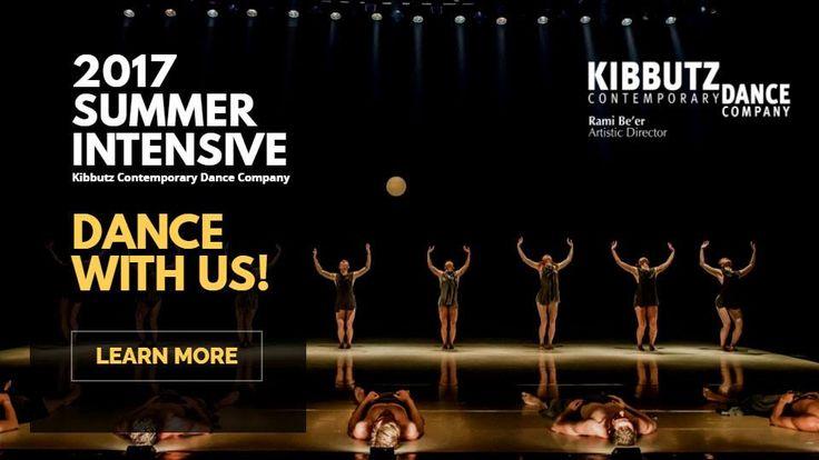 Summer Intensive Dance Program with Kibbutz Contemporary Dance Company
