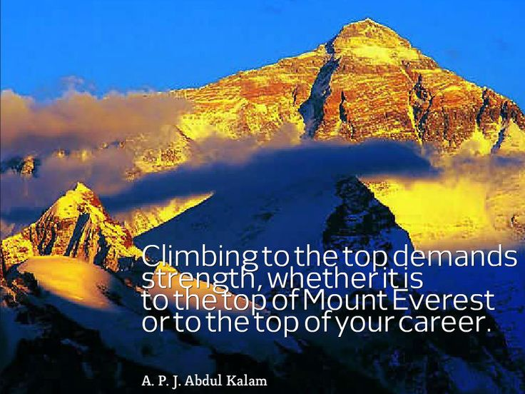 Quotes About Mount Everest: 7 Best Quotes About Achievement Images On Pinterest