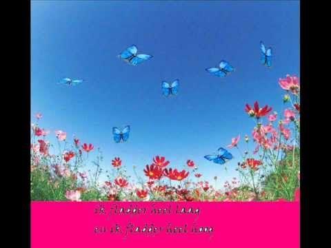 liedje: ik ben een vlinder Leuk voor schrijfdans - Liggende acht en cirkels of guirlandes