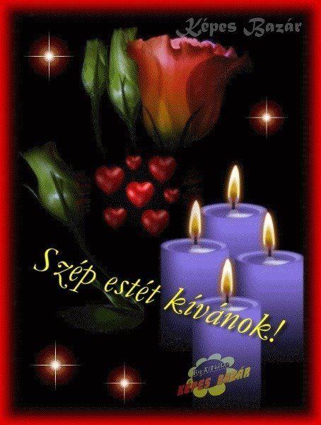 Szép estét kívánok !