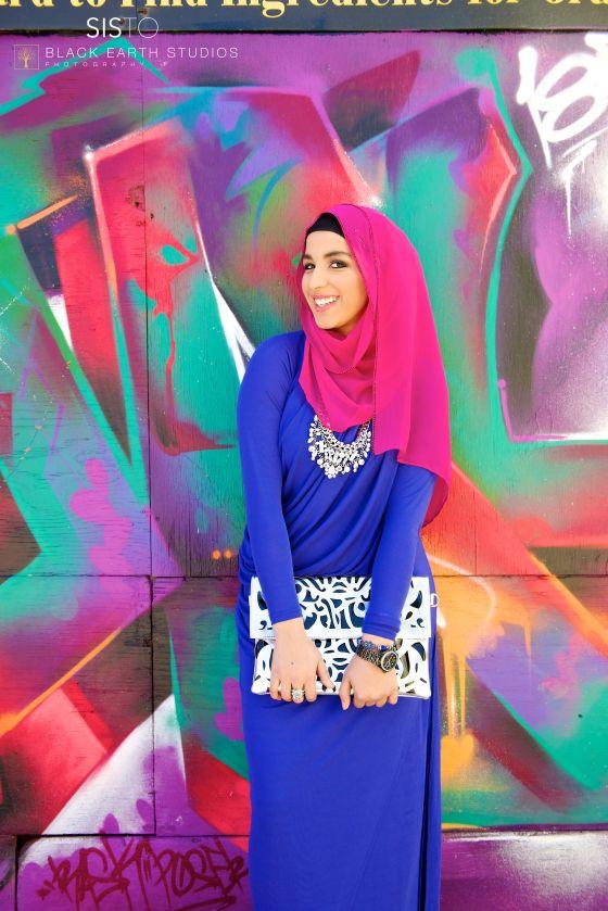#graffiti #fashion #hijab