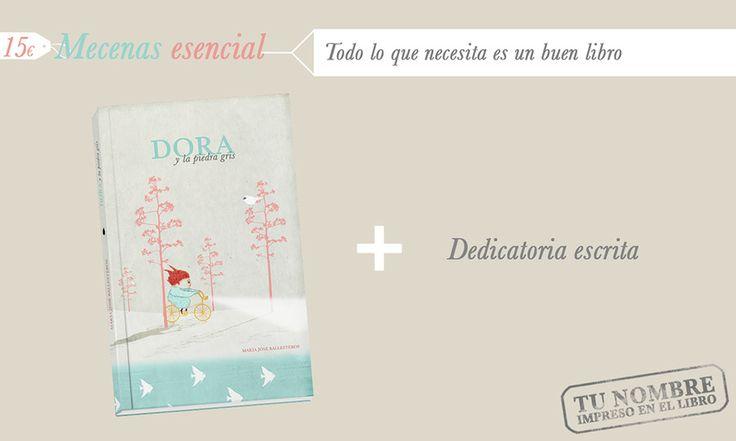 Recompensas para los mecenas esenciales de Dora. http://vkm.is/Dora