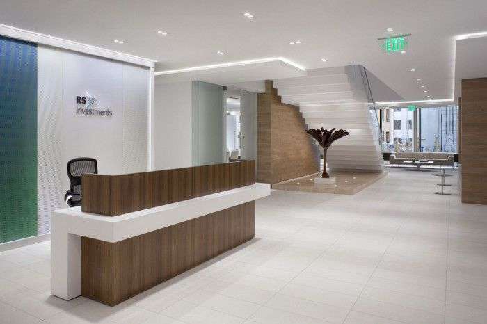 Inside RS Investments San Francisco Offices