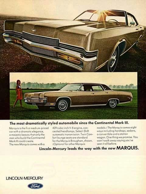 1969 Mercury Marquis Brougham 4-Door Hardtop