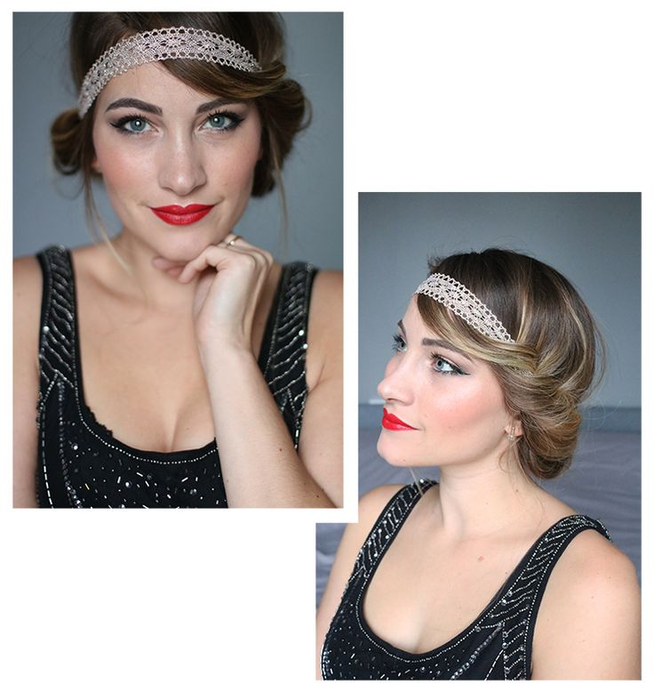 tiboudnez blog beaute the monday tutorial coiffure maquillage gatsby années folles
