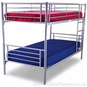 Bertie metal #bunkbed | MyBedFrames