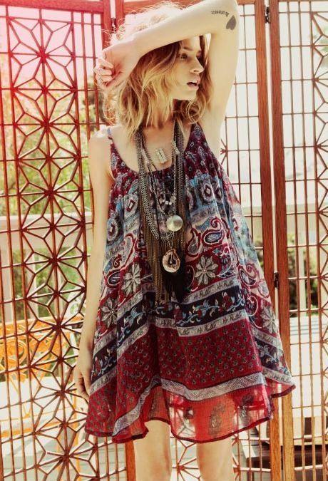 hippie chic dress what to wear pinterest. Black Bedroom Furniture Sets. Home Design Ideas
