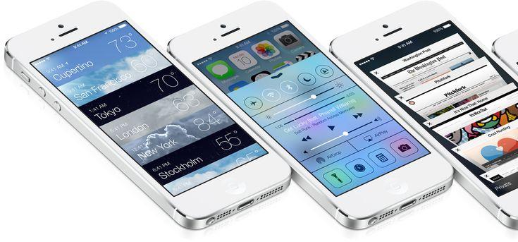 iOS 7 - by Apple | #ui #apple #ios7