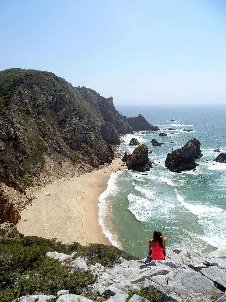 Praia da Ursa - beautiful beach near Cabo da Roca.