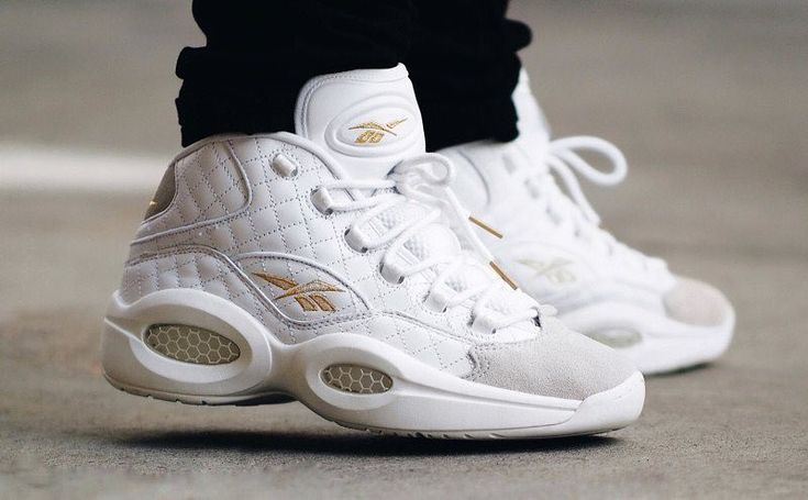 """Reebok celebrates Allen Iversons birthday with the Reebok Question """"White Party"""". Limited pairs in stock at kickbackzny.com."""