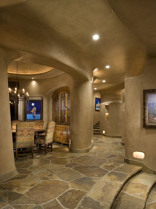 Bess Jones Interiors Beautiful Hallway Southwestern