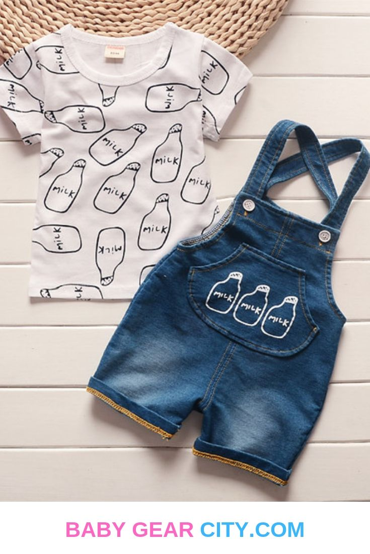 summer baby boys clothes set - Baby Gear City  Stylish baby
