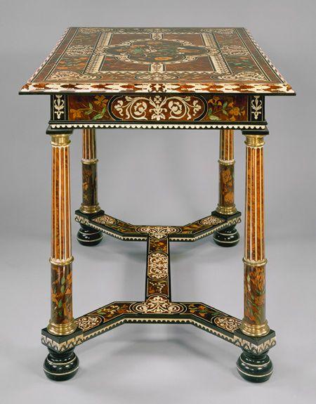 Marqueterie Boulle: Metropolitan Museum of Art